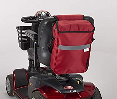 New Deluxe Mobility Scooter Bag Red