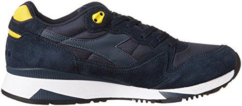 Diadora Unisex-Erwachsene V7000 Nyl Ii Sneaker Blau / Gelb