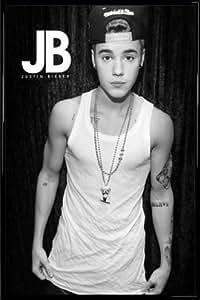 Justin Bieber Poster und Kunststoff-Rahmen - JB Belieber (91 x 61cm)