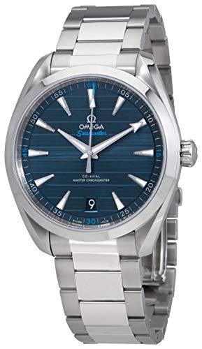 Omega Seamaster Aqua Terra Blue Dial orologio automatico da uomo 220.10.41.21.03.001