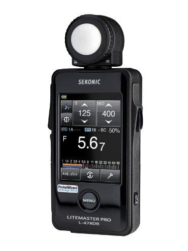 Sekonic LiteMaster Pro Belichtungsmesser mit Touchscreen und Funksender