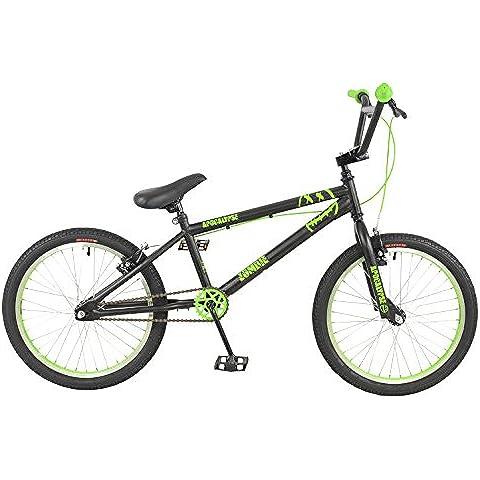 Apocalisse degli Zombie-Bicicletta BMX, 20_inch %2fgreen_, colore: nero