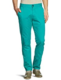 JACK & JONES Herren Chino Hose Bolton Edward Por. Green Akm Noos