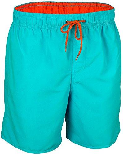 Waimea Jungen Kinder Schwimmhose, Aqua Koralle, 140
