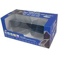 Logilink SP0021 Carisma beleuchtet 2.0 Stereo Aktivlautsprecher schwarz