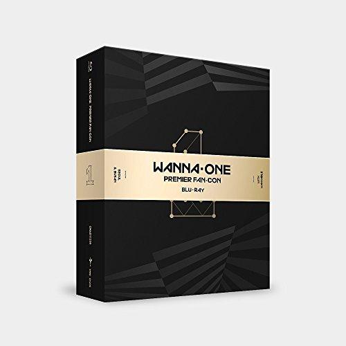 Stein Musik Wanna One PREMIER fan-con Blu-ray 2Discs + Fotobuch + 11polaroids + gefaltet Poster + Geschenk