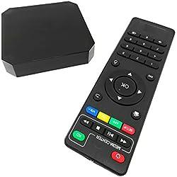 X96mini TV BOX 4K H.265 Display Android 7.1.2 Quad Core HD 2.0 2+16GB WIFI Smart TV BOX [2018 Version]