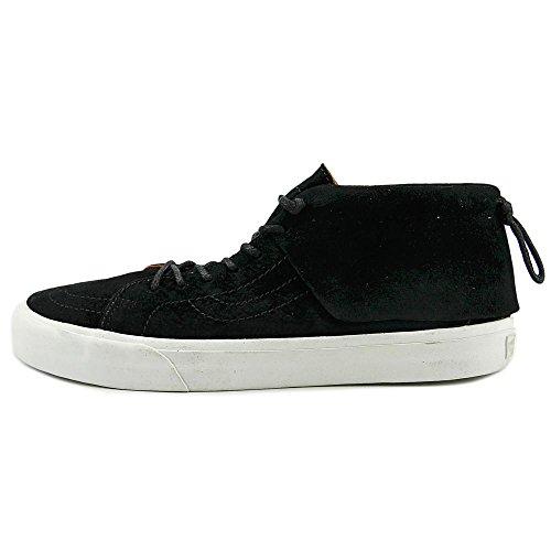 Vans  U Sk8 Mid Moc Ca, Baskets pour femme Noir