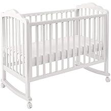 Polini Kids Kinderbett Classic 621 weiß aus Birkenholz, 3024-04