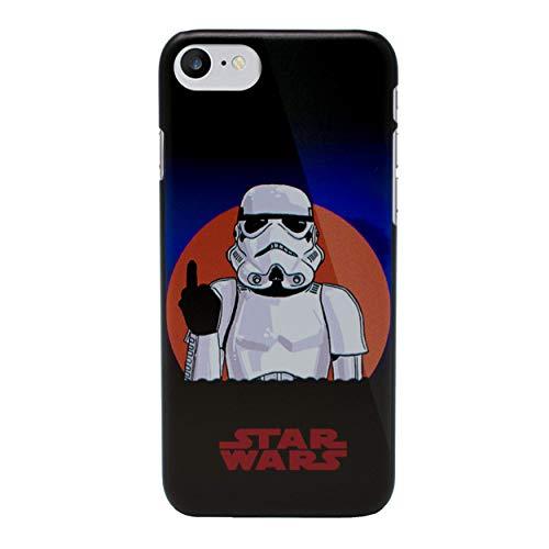 iPhone 7 Star Wars Telefon Hülle/Hülle für Apple iPhone 7 / Schirm-Schutz und Tuch/iCHOOSE / Stormtrooper Finger