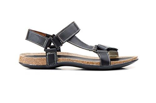 CONBUENPIE  900, Sandale orthopédique homme Noir