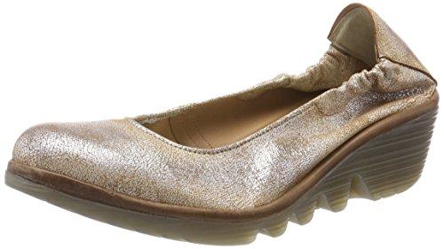 Fly London Pled819fly, Fermé Toe Heel Chaussures Femme Gris (perle / Lt.grey)