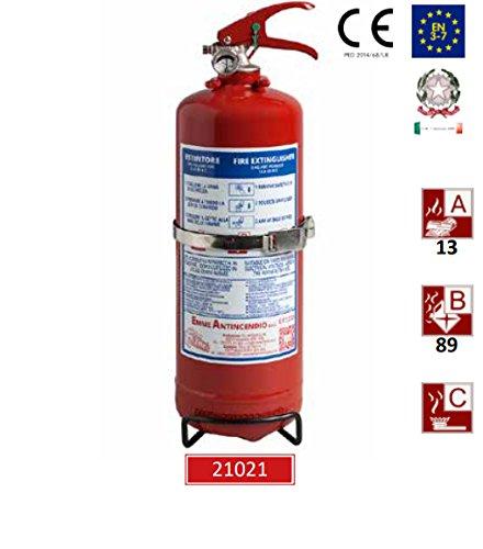Estintore kg 2 polvere - emme 2a - modello 21021