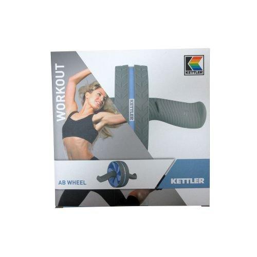 Kettler Erwachsene Ab Wheel Oberkörpertrainer taubenblau/Grau L