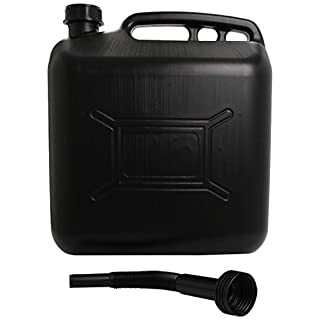 Cosmos 03305 Plastic Fluid Can, 20 Liter, Black