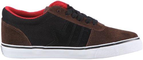 Dekline Archer 602183, Chaussures de skateboard mixte adulte MarronTRB1263