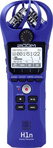 Zoom Registratore Audio Portatile H1n Blu