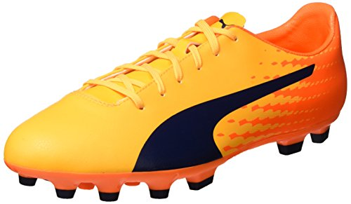 Puma Herren Evospeed 17.5 Ag Fußballschuhe Gelb (ultra yellow-peacoat-orange clown fish 03)
