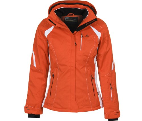 Bergson Damen Skijacke SNOWTASTIC, hot Coral [553], 38