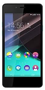 Wiko Highway Pure Smartphone débloqué 4G (Ecran: 4,8 pouces - 16 Go - Simple Nano-SIM - Android) Noir/Turquoise
