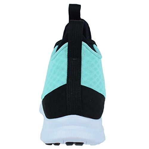 Nike Free Hypervenom 2, Chaussures de Sport Homme Turquoise - Turquesa (Turquesa (Hyper Turq/Hypr Turq-Blk-White))