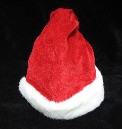 Weihnachtsmütze Nikolausmütze 30 cm mit Musik und Zipfelbewegung