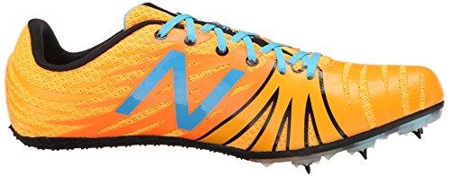 New Balance Men's MSD100V1 Track Spike Shoe Orange / Blue
