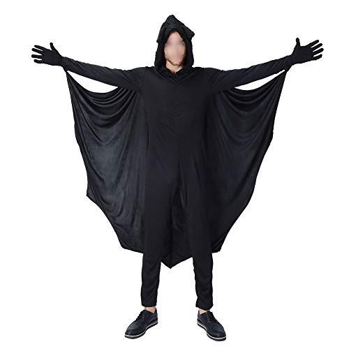 Meijunter Halloween Kostüme - Kind Erwachsene Gemütlich Fledermaus Overall Mädchen Jungen Frau Männer Familie Vampir Cosplay Kostüm Party