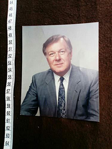 original photograph signed. Original hand signiertes Foto des britischen Politikers und Kanzlers der JOHN MOORE UNIVERSITÄT LIVERPOOL. -