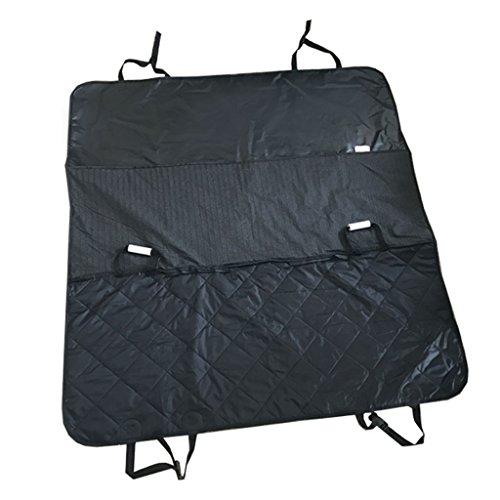 Hund Autositzbezug Haustier Auto Sicherheitssitz Rücksitz wasserdicht Oxford Pad Auto Hund Pad (schwarz) (größe : M)