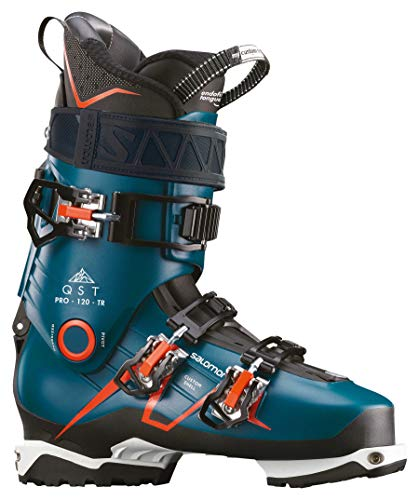 SALOMON Herren Skischuhe QST Pro 120 TR Petrol (285) 27,5