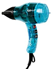 VELECTA PARAMOUNT® TGR ECO XL turchese traslucido: l'asciugacapelli dei capelli perfetti.