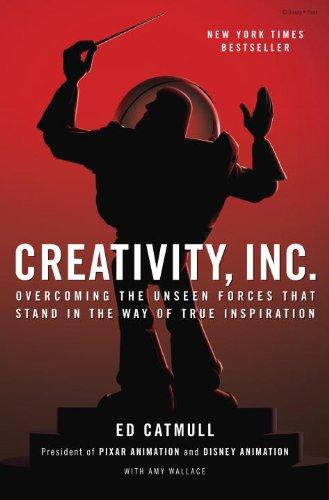 Buchseite und Rezensionen zu 'Creativity, Inc.: Overcoming the Unseen Forces That Stand in the Way of True Inspiration' von Ed Catmull