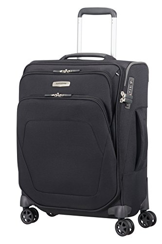 SAMSONITE Spark SNG - Spinner S, lunghezza 40 cm (55cm-43L), Nero (Black)