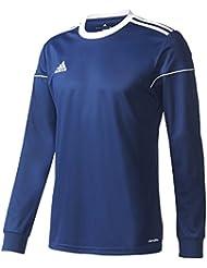 adidas Squad 17 JSY LS Maillot manches longues pour homme, Bleu (Azuosc / Blanc)