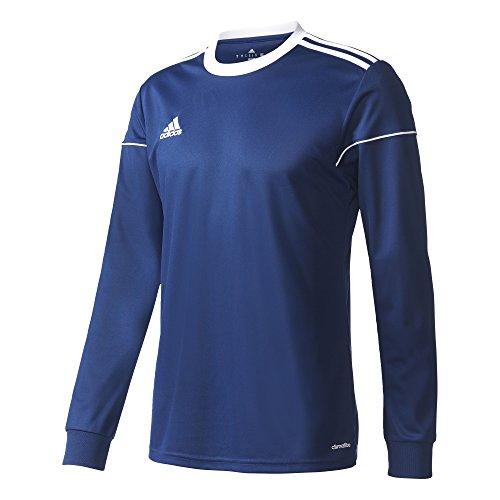 adidas Herren Squad 17 JSY LS Long Sleeved T-Shirt, Dark Blue/White, M -