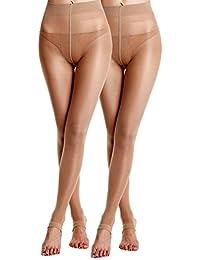 Florboom Femmes Collant De Danse Transparent Mince Collants Leggings 30  Deniers ca49d25e01d