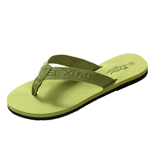 YU'TING ☀‿☀ Infradito da Uomo Donna Sandali Flip Flops Pantofole Ciabatte da Mare per Spiaggia e Piscina Ciabatte Piatte da Surf in Gomma a Infradito