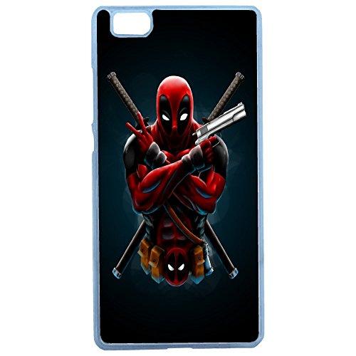 Aux Prix Canons - Etui housse coque originale Marvel Deadpool swag Huawei P8 Lite, Coques iphones