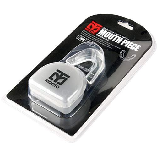 Mooto Einzelnes Muay Taekwondo-Mundstück-Militärboxzahnrad und Erwachsene Zähne schützen Mund Senior Transparent -