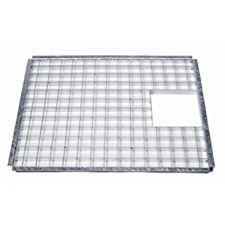 Apollo Galvanised Steel Square Grid