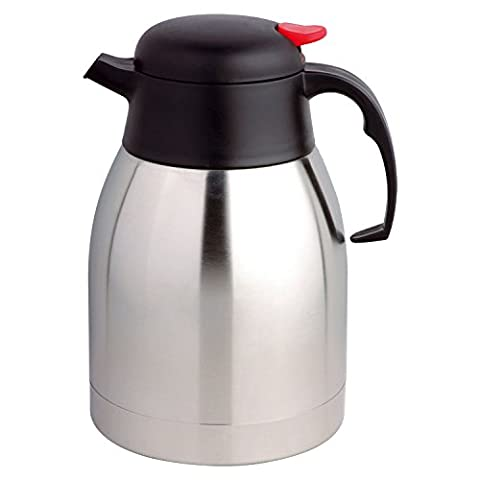 Top Home Solutions® 2 Litre Double Wall Insulated Push Button Vacuum Jug