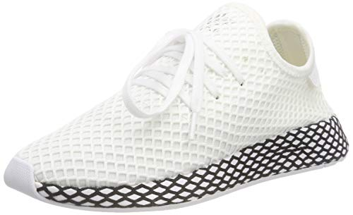 adidas Herren Deerupt Runner Derbys, Weiß FTWR White/Core Black, 42 2/3 EU - Adidas Männer Schuhe Original