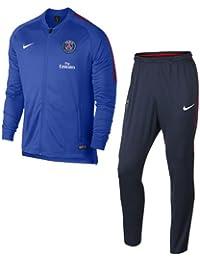 Nike Psg M Dry Sqd Trk K Conjunto Chándal, Hombre, Multicolor, S