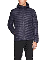 Helly Hansen para hombre Verglas con capucha aislante abajo chaqueta, hombre, color Graphite Blue, tamaño medium