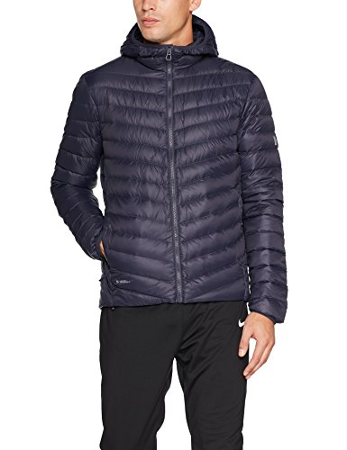 Helly Hansen Verglas Hooded Insulator Down Jacket, Hombre, Graphite Blue, XL