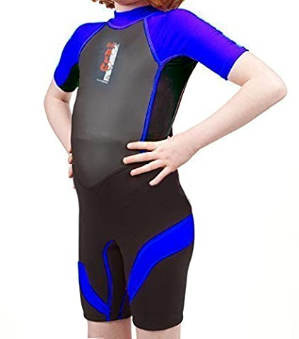 nalu 3-4 blue Soles Up Front Boys Shorty 2mm Wetsuit. All Baby, Child and Kids Sizes and Colours. A Great Childrens Wetsuit for Swimming pool, Beach or Surfing. Ideal Gift For A Birthday Present or Holiday Essential. Logo: Pirate. Sizes: 0-6 Months ; 6-12 Months ; 1-2 Years ; 3-4 Years ; 5-6 Years ; 7-8 Years ; 8-9 Years. Colours: Red ; Blue ;