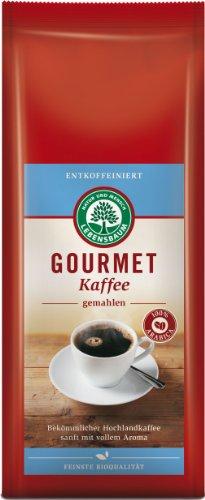 Lebensbaum Gourmet Kaffee, entkoffeiniert, 3er Pack (3 x 250 g)