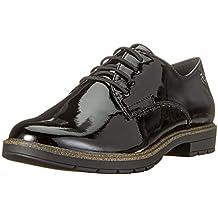 Große Discount Damen Tamaris Schnürschuh weiß Schuhe