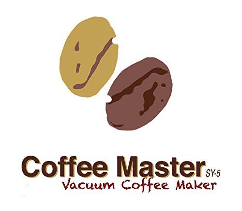S4U® Coffee Master 5-Cup Syphon/Vacuum Glass Coffee Maker (5-Cup Coffee Maker)